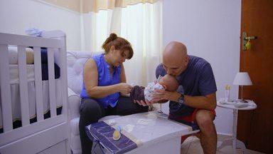 Manuela (Miguel) E Ane - Bebês Arco-Íris