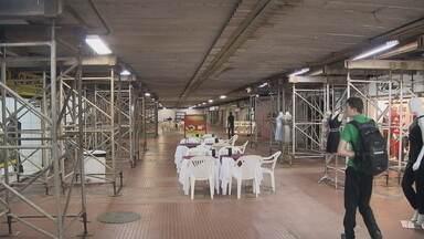 Governo promete reforma de Galeria dos Estados em 60 dias - Segundo a Novacap, os recursos para a obra já foram garantidos, R$ 3 milhões.