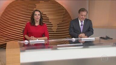 Bom Dia Brasil - Íntegra 11 Maio 2018 - O telejornal, com apresentação de Chico Pinheiro e Ana Paula Araújo, exibe as primeiras notícias do dia no Brasil e no mundo e repercute os fatos mais relevantes.