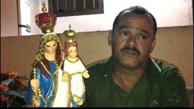 Imagem da santa furtada na Avenida Pedro II é localizada - A polícia ainda não identificou o autor do furto.