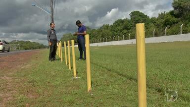 MP-PA realiza perícia técnica no estacionamento do aeroporto de Santarém - Infraero tem prazo de 120 dias para apresentar estudo para criação de vagas livres no aeroporto.