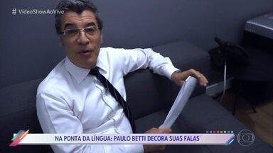 Paulo Betti mostra seu diário de gravação - Ator entrou na reta final de 'O Outro Lado do Paraíso' e conta como foi o ritmo das gravações na pele do inescrupuloso advogado que defendeu Sophia no tribunal