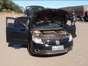 Homem é preso suspeito de envolvimento em roubos de carros - Ele assistia palestra sobre prevenção de acidentes na programação do Maio Amarelo.