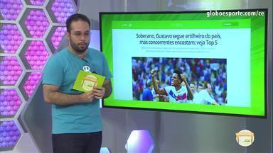 Comentaristas falam sobre os artilheiros do Brasil Gustavo e Arthur e seus concorrentes - Comentaristas falam sobre os artilheiros do Brasil Gustavo e Arthur e seus concorrentes.