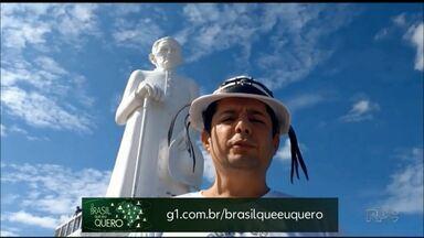 Já gravou um vídeo dizendo que Brasil você quer para o futuro? - Estamos aguardando vídeos de moradores de Quatiguá, Porecatu e Cafeara.