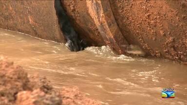 CAEMA anuncia nova interrupção no abastecimento de água em São Luís - Entre os dias 16 e 19 de maio, 154 bairros da cidade estarão sem água nas torneiras. Segundo a companhia, medida é para interligação da nova adutora do sistema Italuís.