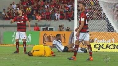 Veja os lances da partida entre Ponte Preta e Flamengo pela Copa do Brasil - A Macaca foi eliminada nas oitavas de final após o empate em 0 a 0.