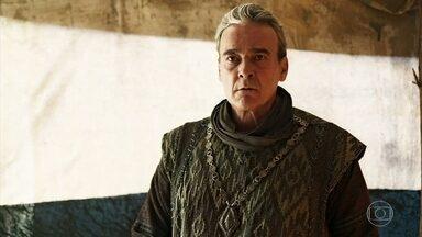 Otávio teme ataque a Lastrilha - Afonso garante que não está blefando e dá o prazo de dois dias para o Rei tirar seus soldados de Artena