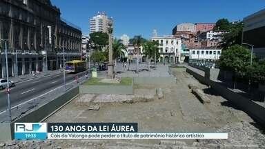 Cais do Valongo pode perder o título de Patrimônio Histórico Artístico - O maior marco da escravidão no mundo pode perder o título se a prefeitura não cumprir o que prometeu.