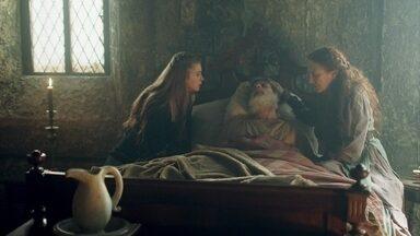 O estado de Martinho piora e preocupa Amália e Constância - A plebeia conversa com Diana tentando saber segredos sobre Catarina