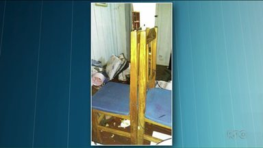 Casal de agricultores é feito refém no oeste do estado - Três bandidos invadiram a casa que fica na zona rural, amarram os dois e reviraram a casa antes de fugir com o carro.