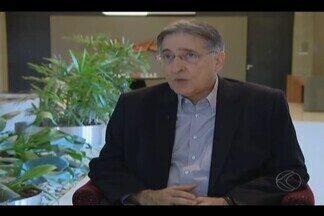 Governador Fernando Pimentel visita Uberlândia e fala sobre temas da região - Ele veio para compromissos ligados à energia e falou com exclusiva ao MGTV.