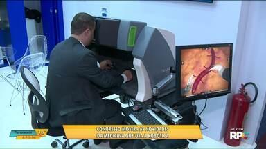 Congresso discute robótica e inovações tecnológicas em cirurgias - Mais de 17 mil cirurgias robóticas já foram realizadas no Brasil.