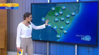 Tempo: Norte do RS tem risco de temporal nesta quarta-feira (16) - Veja como fica a previsão.