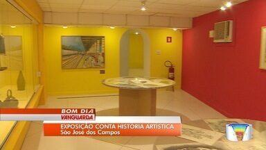 Museu de São José inaugurou exposição - Obras retrataram a cena artística da cidade na década de 60.