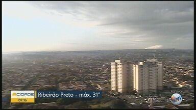 Temperatura máxima chega aos 31°C nesta quarta-feira (16) em Ribeirão Preto - Há possibilidade de pancadas de chuvas.