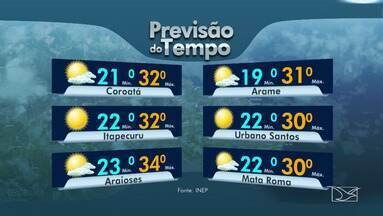 Veja a previsão do tempo e da maré nesta quarta-feira (16) no MA - Confira como deve ficar o tempo e a temperatura em São Luís e no Maranhão.