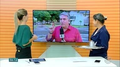 Marcinha e Alexandre Cabral falam sobre Sinal Digital - Copeira da TV Morena já está com novo equipamento, doado pelo governo.