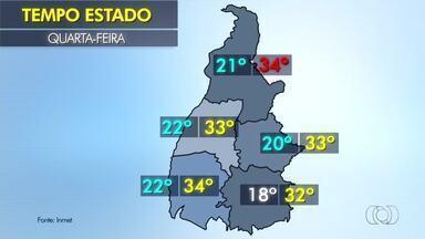 Veja como fica o tempo no estado nesta quarta-feira (16) - Veja como fica o tempo no estado nesta quarta-feira (16)