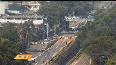 Anhanguera Notícias: Trecho da Marginal Botafogo será liberado, em Goiânia - Veja todas as notícias do boletim.