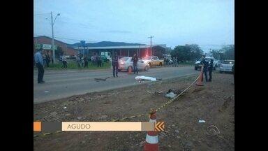Duas pessoas morrem em acidentes de trânsito na Região Central - Acidentes aconteceram em Agudo e em Cacequi, na Região Central do Rio Grande do Sul.