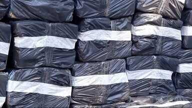 Polícia encontra mais de uma tonelada de maconha em residência de Dourados, MS - A apreensão do entorpecente foi durante uma operação.