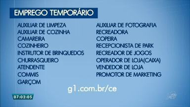 Parque Aquático abre empregos temporários para o período de alta estação, em Aquiraz - Saiba mais em g1.com.br/ce
