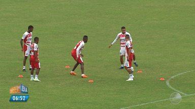 Bahia se concentra para jogo importante contra o Palmeiras no Brasileirão - Veja as notícias do tricolor baiano.