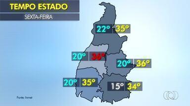 Saiba como fica o tempo nesta sexta-feira (18) em todo o estado - Saiba como fica o tempo nesta sexta-feira (18) em todo o estado