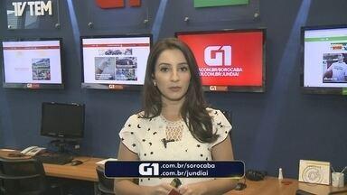 Mayara Corrêa traz os destaques do G1 Sorocaba e Jundiaí nesta sexta-feira - Confira os destaques do G1 Sorocaba e Jundiaí nesta sexta-feira (18) com Mayara Corrêa.