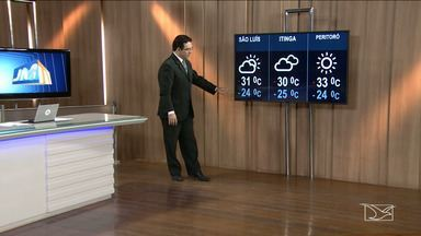 Confira a previsão do tempo no Maranhão - Segundo a meteorologia, a previsão para esta sexta-feira (18) em São Luís será de tempo parcialmente nublado com mínima de 24 graus e máxima de 31.