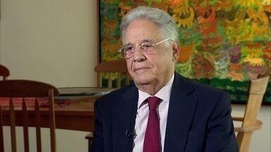 Fernando Henrique Cardoso lança livro sobre crise no Brasil