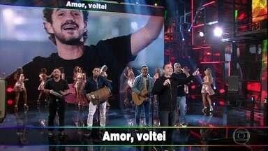 Só no Sapatinho canta 'Amor, Voltei' - Música foi composta por Arlindo Cruz para o grupo