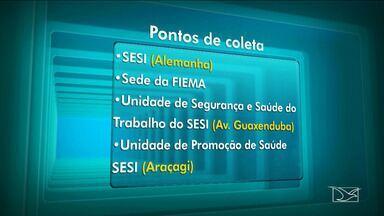 Ação Global será realizada neste final de semana em São Luís - Mais uma edição da Ação Global será realizada neste sábado (21), no Multicenter Sebrae. Uma das novidades deste ano é a doação de livros que já estão sendo arrecadados em alguns pontos selecionados pelo Sesi.