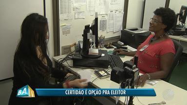Cerca de 135 mil eleitores tiveram o título cancelado em Salvador - Quem ainda não regularizou sua situação ainda tem uma opção prevista por lei.