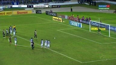 Jogando em casa, CSA é derrotado pelo Figuerense - Partida terminou em 4 a 1.