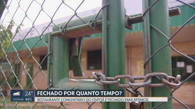 Restaurante Comunitário do Itapoã fecha pela terceira vez - Redação Móvel mostra que a população pobre da cidade reclama do fechamento. O restaurante comunitário mais próximo fica a 6 quilômetros de distância, no Paranoá.