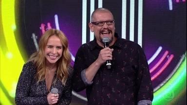 Marcello Airoldi acerta música e faz ponto para sua dupla com Fernanda Nobre - A dupla acerta campainha na segunda chance