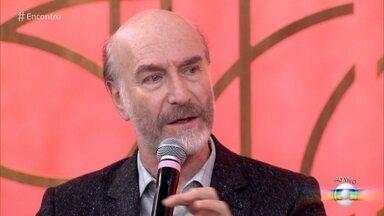 Odilon Wagner fala sobre o Severo de 'Segundo Sol' - Na novela das nove, o ator interpreta pai que teve um filho fora do casamento