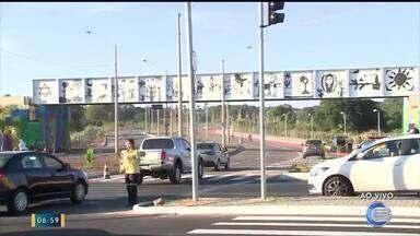 Prolongamento da Avenida Cajuína será liberado hoje (01) - Prolongamento da Avenida Cajuína será liberado hoje (01)