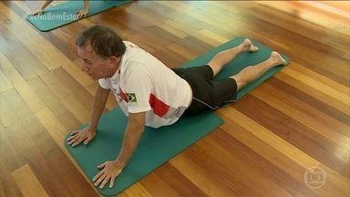 Eu Atleta: atividade física em qualquer idade - Quem já passou dos 40, 50 anos, e acha que não está dando conta, que não consegue fazer uma atividade física, deve ver o exemplo do Mauro. Confira.