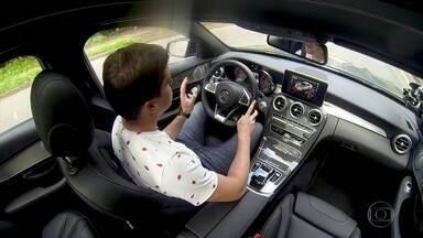 Carros esportivos ganham controles para aumentar conforto - Carros esportivos ganham controles para aumentar conforto