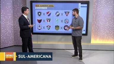 Definidos os confrontos da oitavas de final da Libertadores - Conmebol realiza sorteios da Libertadores e Sul-americana. Na Inglaterra, Seleção Brasileira segue preparação para a Copa do Mundo.