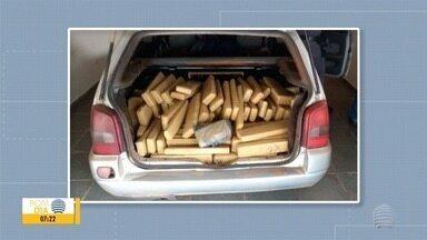 Veículo carregado com maconha é encontrado em motel em Regente Feijó - Motorista teria entrado com a picape no local e fugido a pé.