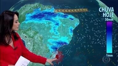 Dia será chuvoso em parte do Sul e Sudeste - Tempo instável e baixas temperaturas na reta final do outono.