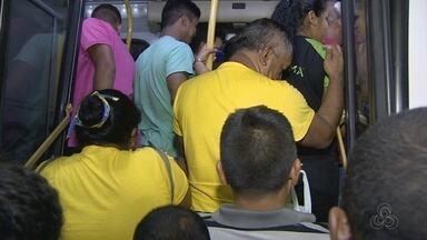 Circulação de ônibus é normalizada em Manaus após sete dias de greve - Sinetram informou que 100% da frota foi para as ruas da capital.