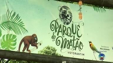 Após cinco meses, Parque do Matão será reaberto em Votorantim - Fechado desde o dia 2 de janeiro por conta da morte de 31 macacos bugios, o Parque do Matão vai reabrir às 14h desta terça-feira (5), em Votorantim (SP).