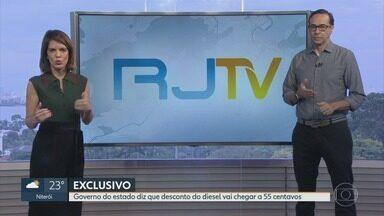 RJ1 - Íntegra 05 Junho 2018 - O telejornal, apresentado por Mariana Gross, exibe as principais notícias do Rio, com prestação de serviço e previsão do tempo.