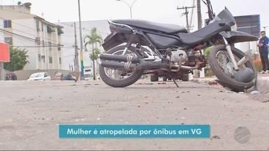 Motociclista sem CNH morre após bater em ônibus - Motociclista sem CNH morre após bater em ônibus.