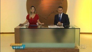 Veja os destaques do Bom Dia Goiás desta quarta-feira (6) - Justiça decide manter preso o motorista que matou a ex-mulher que estava grávida.